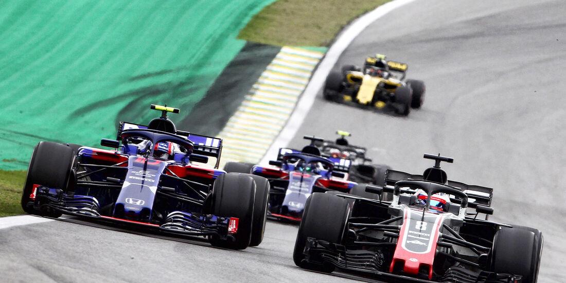Romain Grosjean - Formel 1 - GP Brasilien 2018