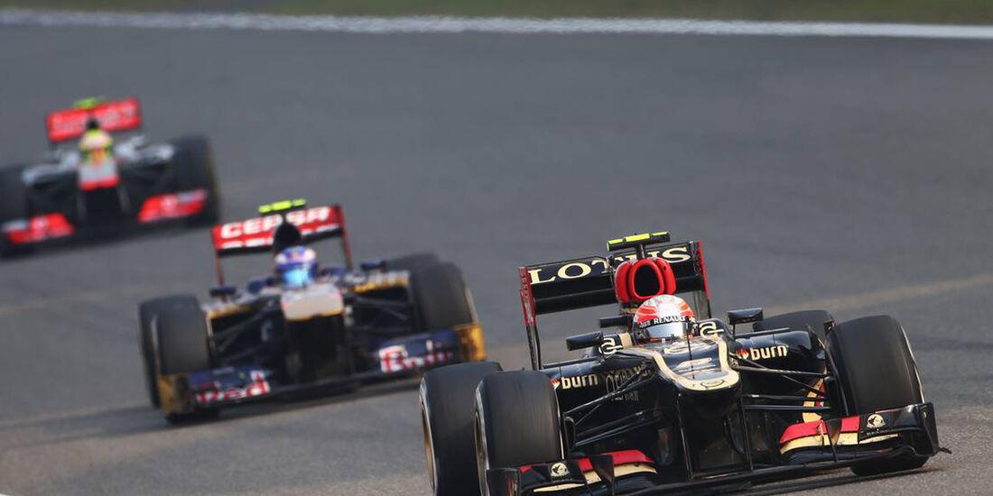 Romain Grosjean - Formel 1 - GP China - 14. April 2013