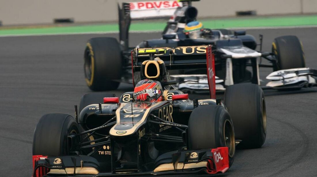 Romain Grosjean - Formel 1 - GP Indien - 27. Oktober 2012