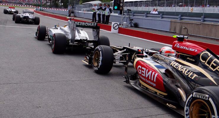 Romain Grosjean - Formel 1 - GP Kanada 2013