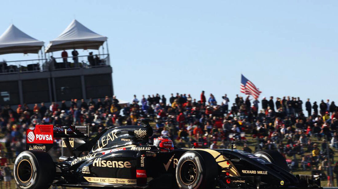 Romain Grosjean - Formel 1 - GP USA - 1. November 2014
