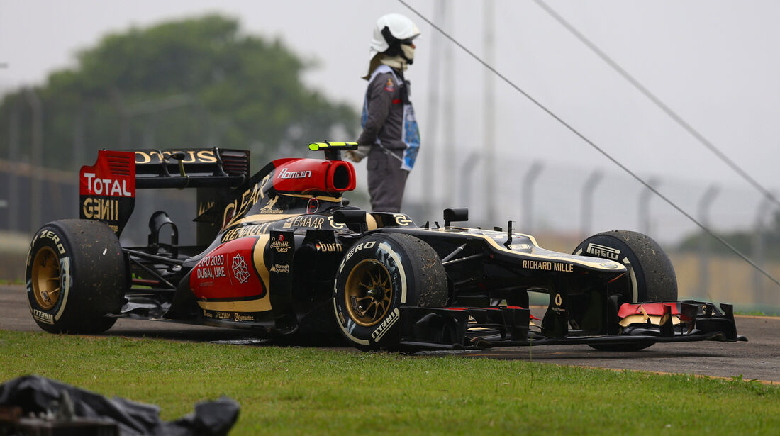 Romain Grosjean - GP Brasilien 2013