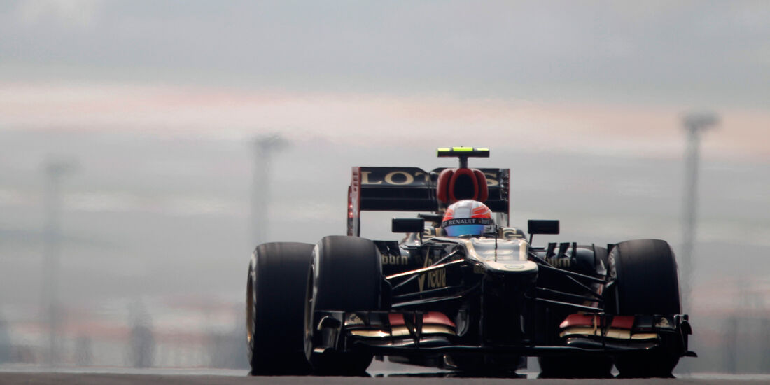 Romain Grosjean - GP Indien 2013