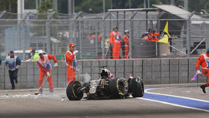 Romain Grosjean - GP Russland 2015