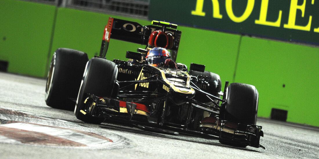 Romain Grosjean - GP Singapur 2013