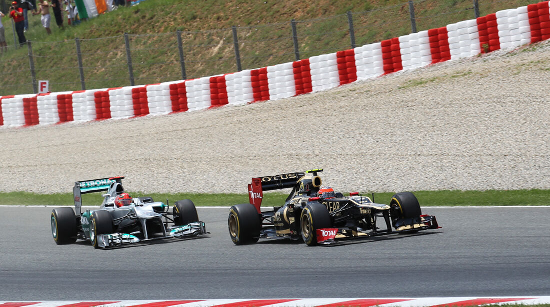 Romain Grosjean GP Spanien 2012