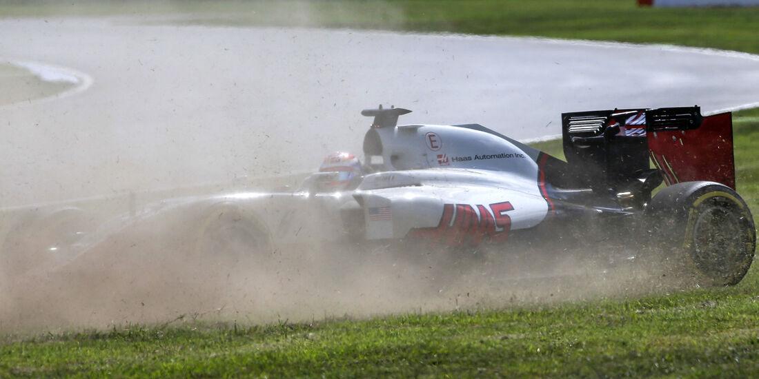 Romain Grosjean  - Haas F1 - Formel 1 - GP Deutschland - 30. Juli 2016
