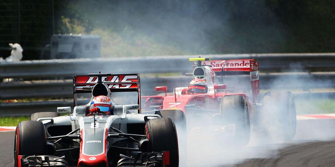Romain Grosjean - Haas F1 - Formel 1 - GP Ungarn - 24. Juli 2016