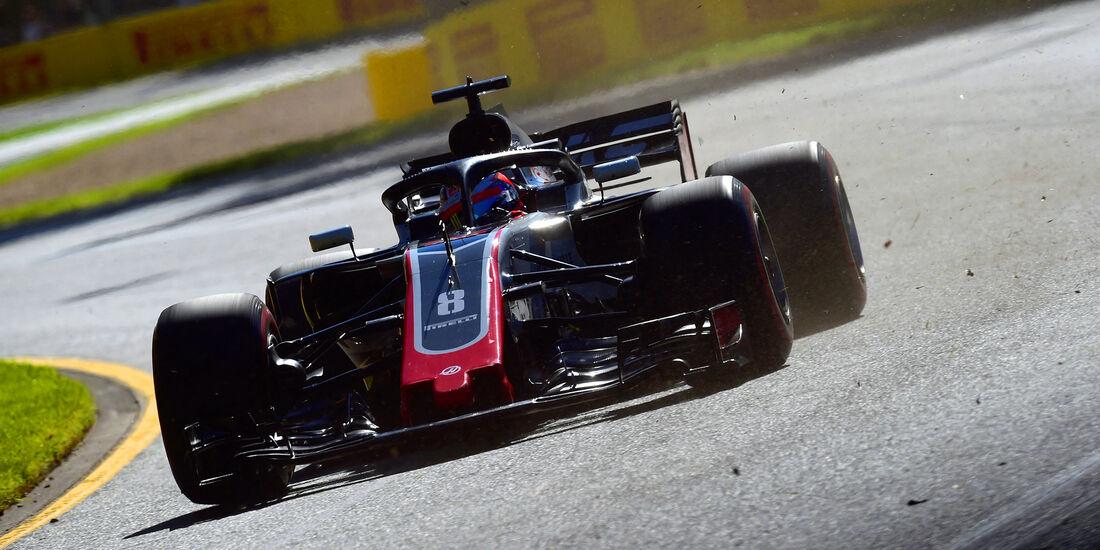 Romain Grosjean - HaasF1 - Formel 1 - GP Australien - Melbourne - 23. März 2018