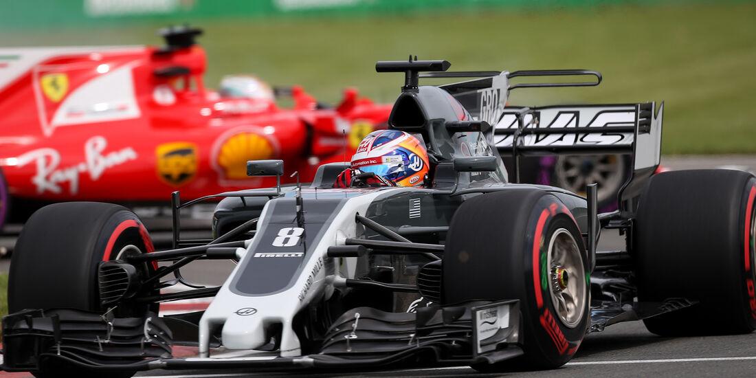 Romain Grosjean - HaasF1 - Formel 1 - GP Kanada - Montreal - 9. Juni 2017