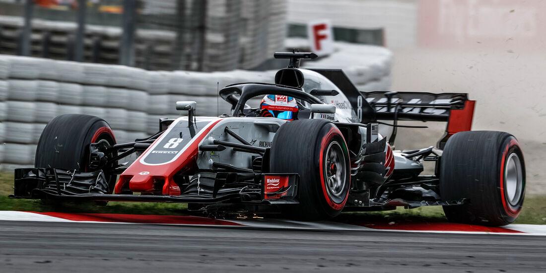 Romain Grosjean - HaasF1 - Formel 1 - GP Spanien - Barcelona - 12. Mai 2018
