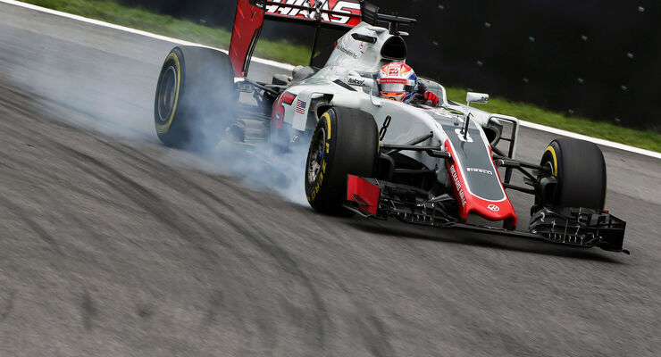 Romain Grosjean - HaasF1 - GP Brasilien 2016 - Interlagos - Qualifying