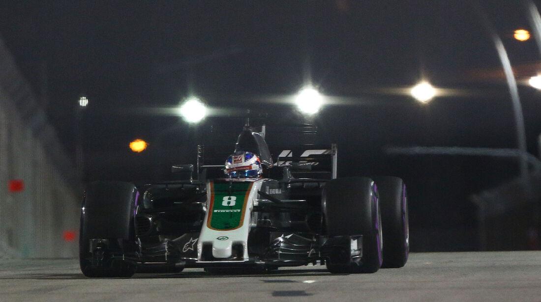 Romain Grosjean - HaasF1 - GP Singapur - Qualifying