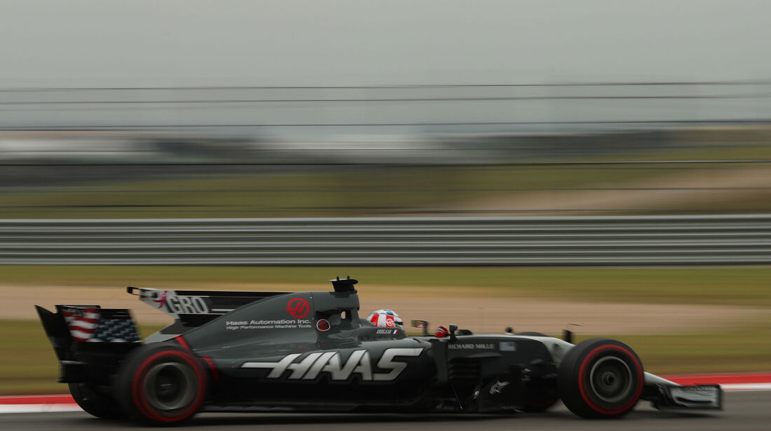 Romain Grosjean - HaasF1 - GP USA - Austin - Formel 1 - Freitag - 20.10.2017