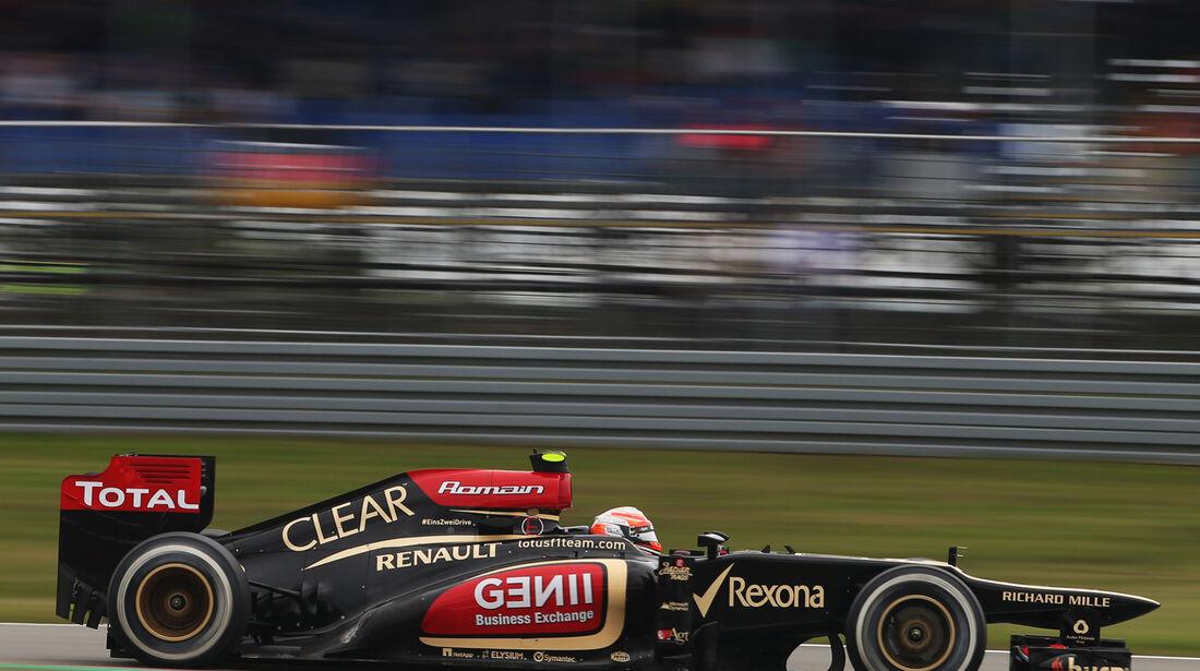 Romain Grosjean - Lotus - Formel 1 - GP Deuschland - 5. Juli 2013