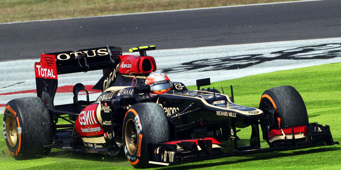 Romain Grosjean - Lotus - Formel 1 - GP Japan - 12. Oktober 2013