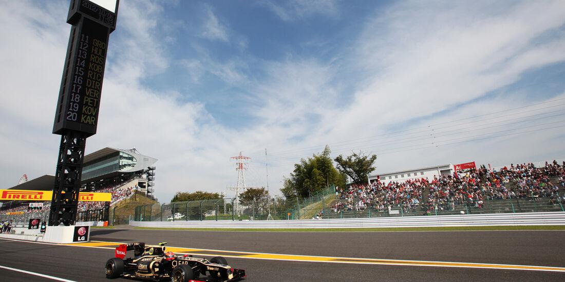 Romain Grosjean - Lotus - Formel 1 - GP Japan - Suzuka - 6. Oktober 2012