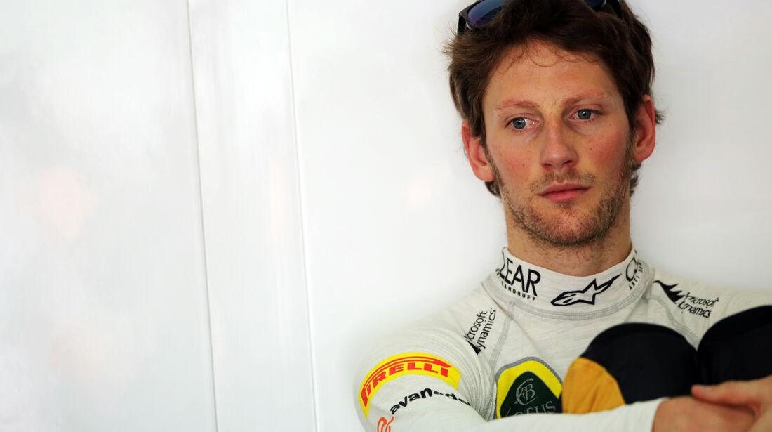Romain Grosjean - Lotus - Formel 1 - GP Malaysia - 22. März 2013