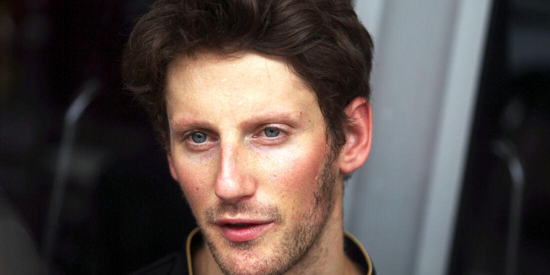 Romain Grosjean - Lotus - Formel 1 - GP Malaysia - Sepang - 27. März 2014