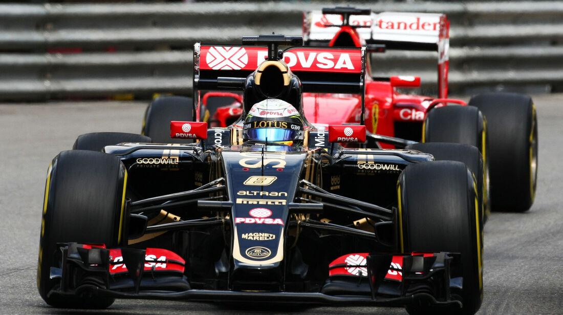 Romain Grosjean - Lotus - Formel 1 - GP Monaco - 21. Mai 2015