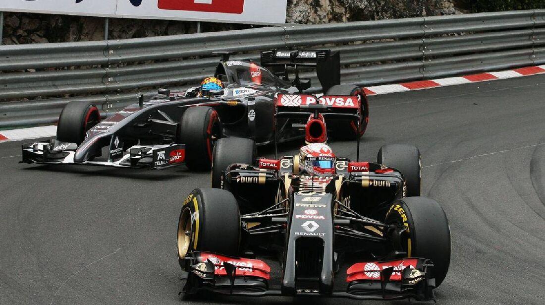 Romain Grosjean - Lotus  - Formel 1 - GP Monaco - 25. Mai 2014