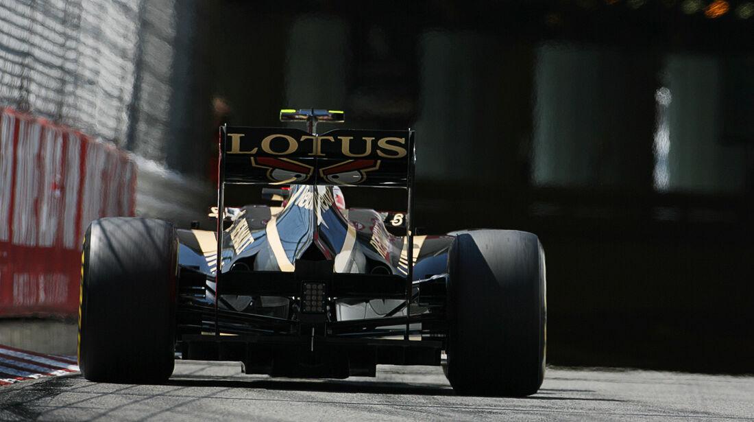 Romain Grosjean - Lotus - Formel 1 - GP Monaco - 26. Mai 2012