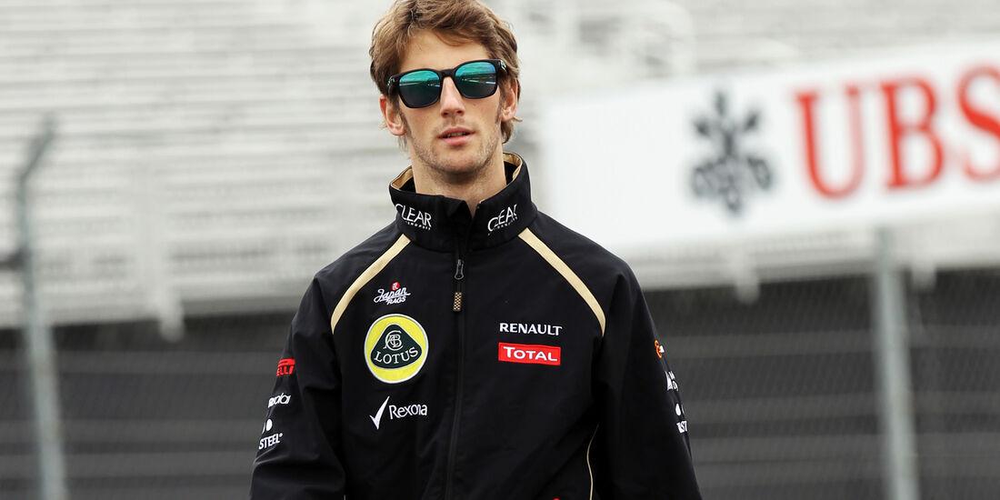 Romain Grosjean - Lotus - Formel 1 - GP USA - Austin - 15. November 2012