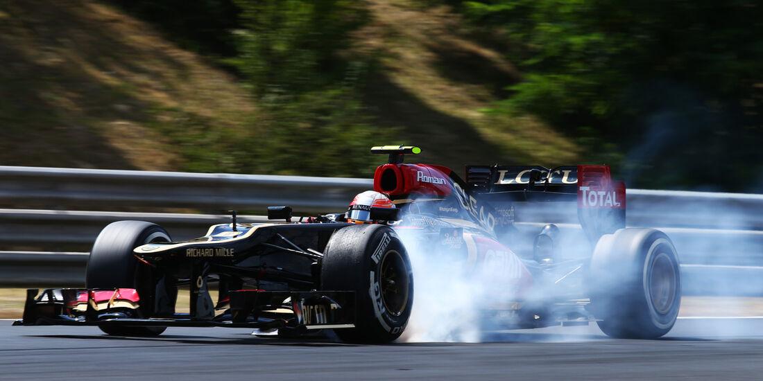 Romain Grosjean - Lotus - Formel 1 - GP Ungarn 2013