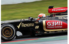 Romain Grosjean, Lotus, Formel 1-Test, Barcelona, 01. März 2013
