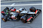 Romain Grosjean - Lotus - Formel 1 - Test - Barcelona - 2. März 2013