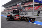 Romain Grosjean - Lotus - Formel 1 - Test - Barcelona - 21. Februar 2013