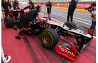 Romain Grosjean - Lotus - Formel 1-Test - Mugello - 2. Mai 2012