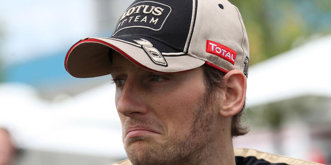 Romain Grosjean - Lotus - GP Australien - Melbourne - 15. März 2012