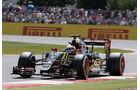 Romain Grosjean - Lotus - GP England - Silverstone - Qualifying - Samstag - 4.7.2015