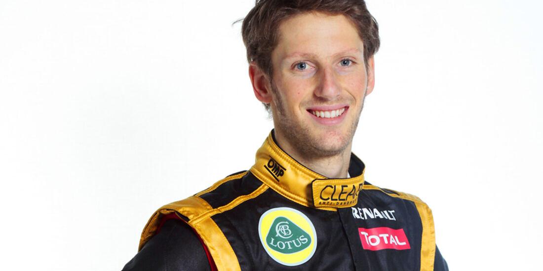 Romain Grosjean Porträt 2012