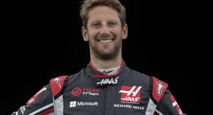 Romain Grosjean - Porträt - Formel 1 - 2017