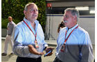 Ron Dennis & Chase Carey - Formel 1 - GP Singapur - 17. September 2016