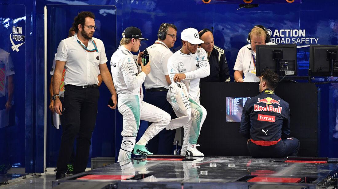 Rosberg & Hamilton - Formel 1 - GP Abu Dhabi - 26. November 2016