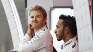 Rosberg & Hamilton - GP Japan 2016