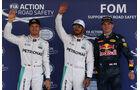 Rosberg, Hamilton & Verstappen - Formel 1 - GP Mexiko - 29. Oktober 2016