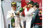 Rosberg - Hamilton - Verstappen - GP England 2016 - Silverstone - Rennen