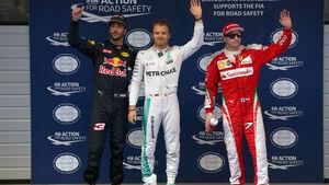 Rosberg - Räikkönen - Ricciardo - GP China 2016 - Shanghai - Qualifying - 16.4.2016