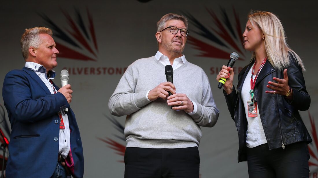 Ross Brawn - Formel 1 - GP England - 14. Juli 2017