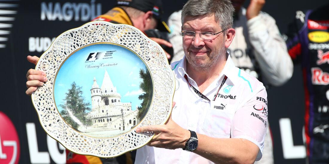 Ross Brawn - Formel 1 - GP Ungarn 2013
