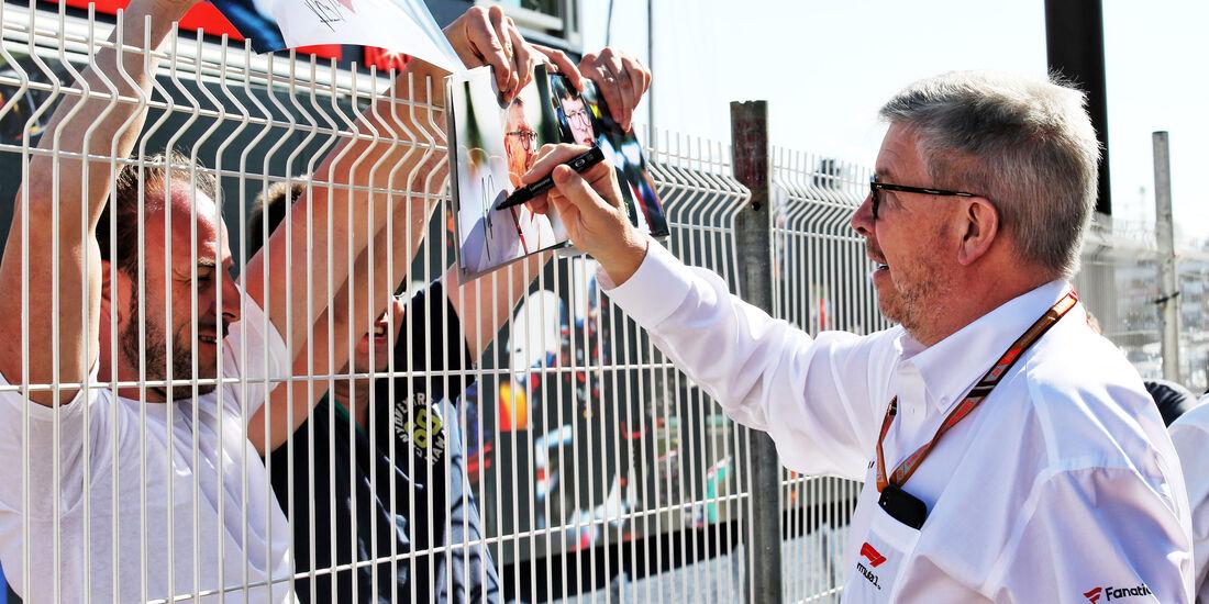 Ross Brawn - GP Monaco - Formel 1 - Donnerstag - 24.5.2018