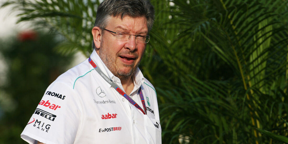 Ross Brawn - Mercedes - GP Malaysia - Training - 23. März 2012