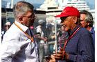 Ross Brawn & Niki Lauda - Formel 1 - GP Monaco - 27. Mai 2017