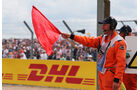 Rote Flagge - GP England 2014