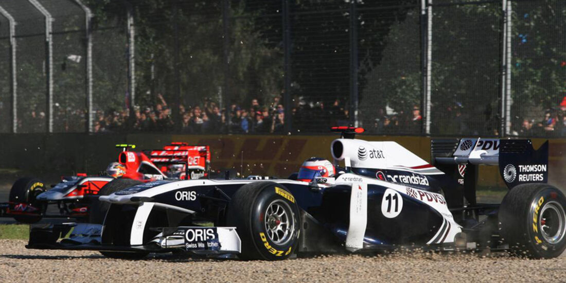 Rubens Barrichello GP Australien 2011