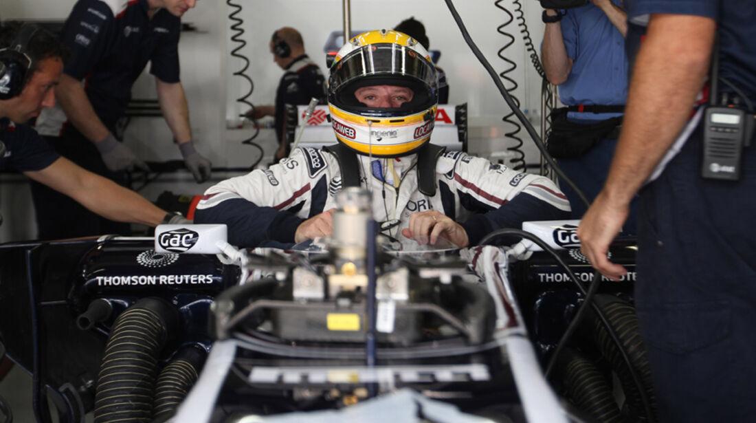 Rubens Barrichello GP Brasilien 2011